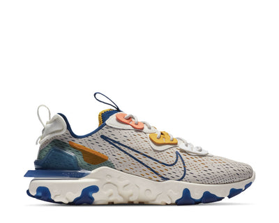 Nike React Vision LT Orewood Brn / Coastal Blue - Sail CD4373-103