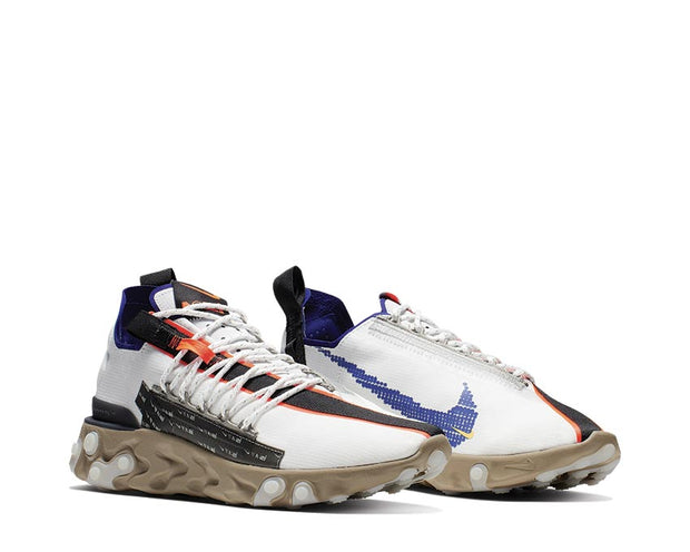 Nike React WR ISPA Summit White Deep Royal Blue Khaki Black AR8555-100