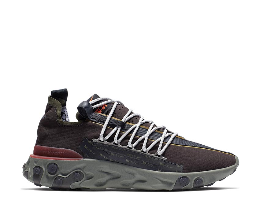 Nike React WR ISPA Velvet Brown Terra Orange Dark Stucco AR8555-200