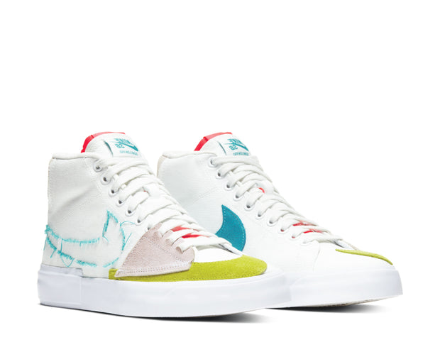 Nike SB Zoom Blazer Mid Edge Summit White / Oracle Aqua - Summit White CI3833-101