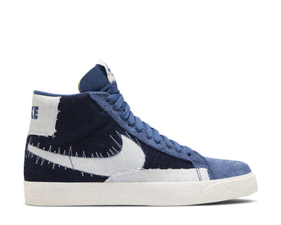 Nike SB Zoom Blazer Mid Premium Mystic Navy / Sail - Sail - Gum Light Brown CT0715-400