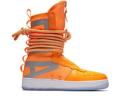 Nike SF Air Force 1 Hi Boot Total Orange