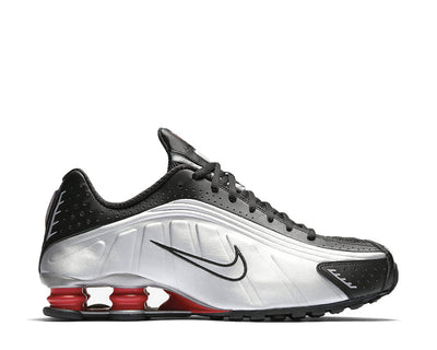 Nike Shox R4 Black Metallic Silver Max Orange BV1111-008