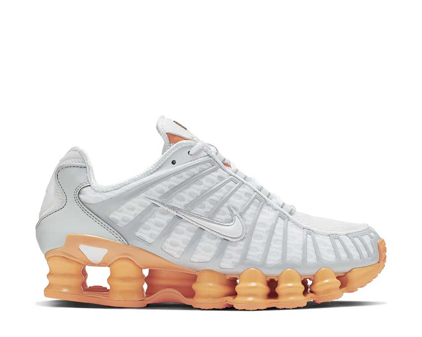 Nike Shop TL White / Pure Platinum - Fuel Orange AR3566-101