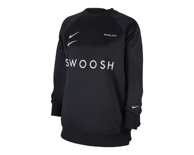 Nike Sportswear Swoosh Long Tee Black / White CJ4840-010