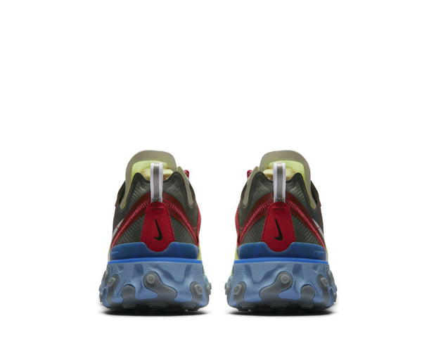 Nike Undercover React Element 87 Volt University Red  bq2718 700