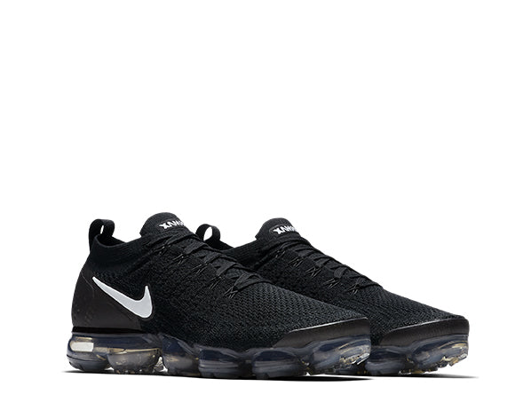 NIKE AIR VAPORMAX FLYKNIT 2 SKU 942842 001 All Black White