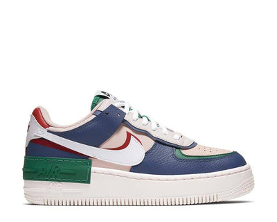 Nike W AF1 Shadow Mystic Navy / White - Echo Pink - Gym Red CI0919-400