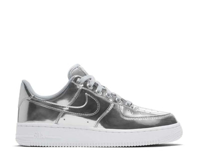 Nike W Air Force 1 SP Metallic Silver Chrome / Metallic Silver - White CQ6566-001