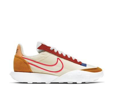 Nike Waffle Racer 2X Monarch / Siren Red - Pearl White CK6647-800