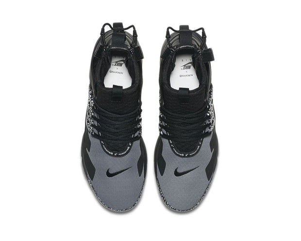 Nike Acronym Air Presto Mid Cool Grey Black AH7832 001
