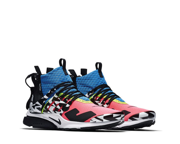 pretty nice 73153 7eac4 ... netherlands nike acronym air presto mid racer pink black photo blue  white ah7832 600 cf7d5 a7ea9 ...