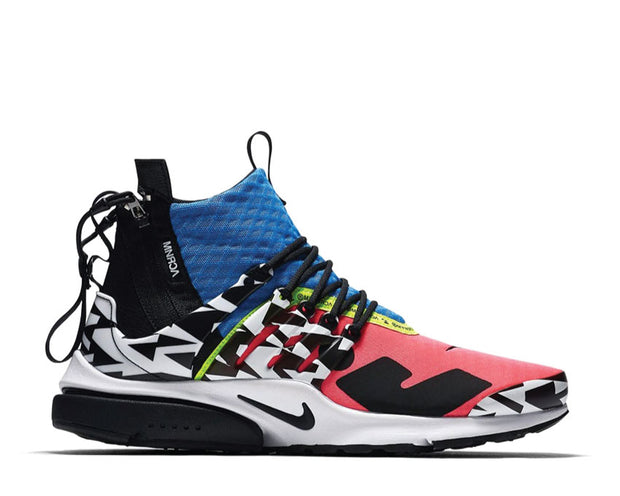 Nike Acronym Air Presto Mid Racer Pink Black Photo Blue White AH7832 600