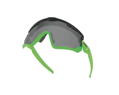 Oakley Wind Jacket 2.0 Glasses Matte Black / Fade Green 9418-5A