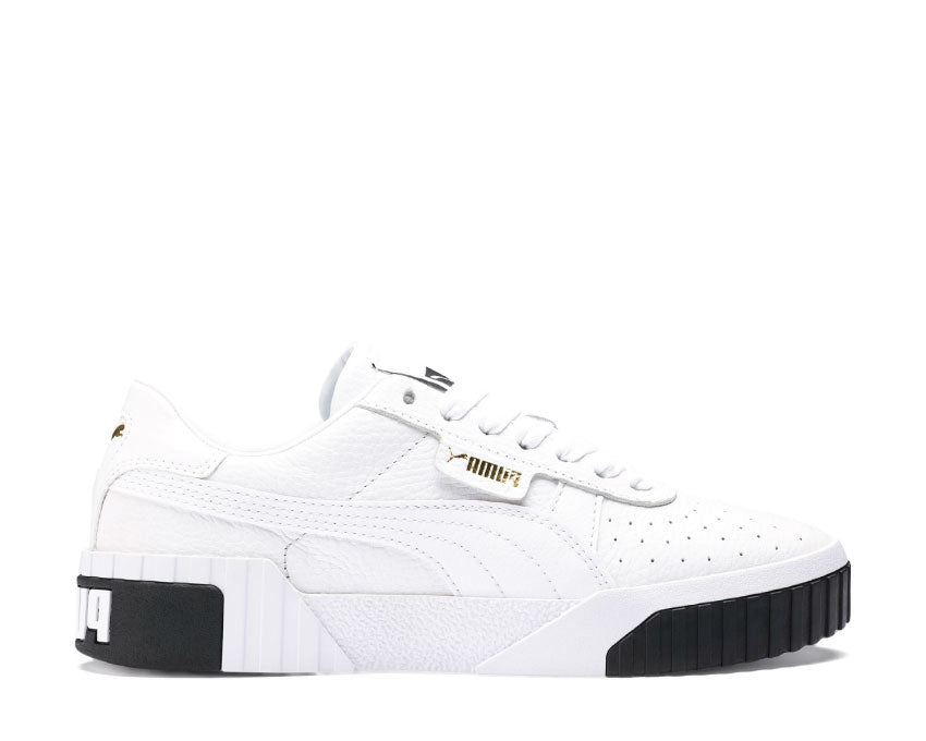 Puma Cali White Black 369155 04