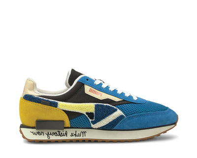 Puma Future Rider X Black Fives Star Saphire - Maize 381958 01