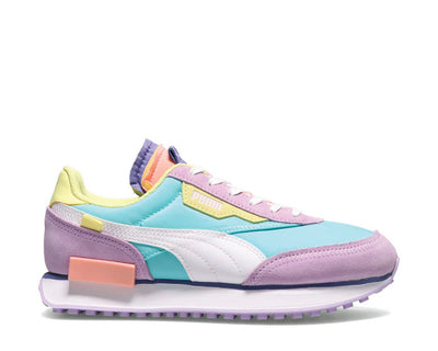 Puma Future Rider Slash CB Pink Lady / Angel Blue 383353 01
