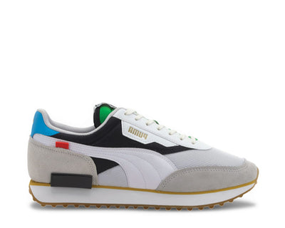 Puma Future Rider WH White - Black 373384 01