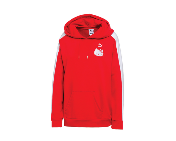 9626d412f96 Puma X Hello Kitty Hoodie Red 576734 05 - NOIRFONCE