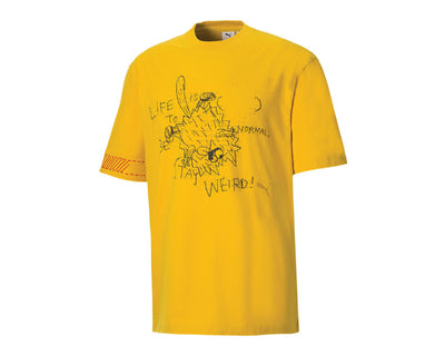 Puma Michael Lau Too Short Graphic Tee Super Lemon 530361 79