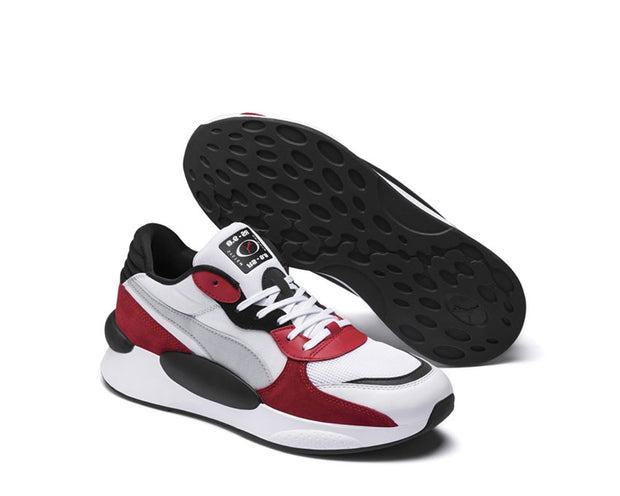 Puma RS 9.8 SPACE White / High Risk Red 370230 01