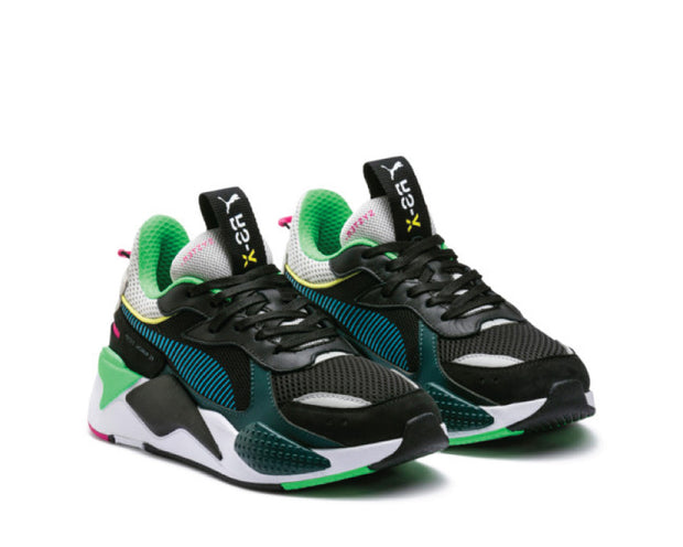 Puma RS-X TOYS Black Blue Atoil 369449-01