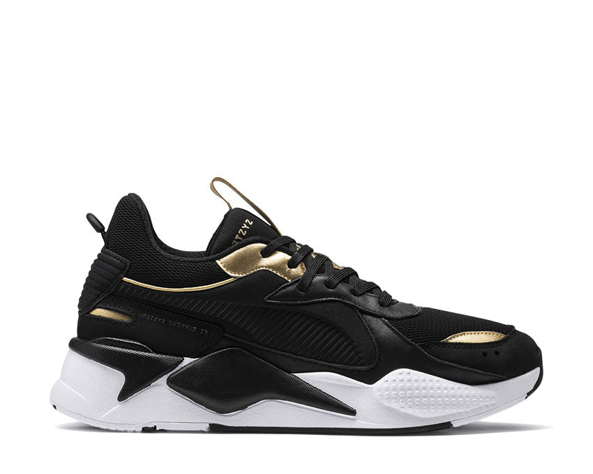 Puma RS-X Trophy Black Team Gold 369451 01