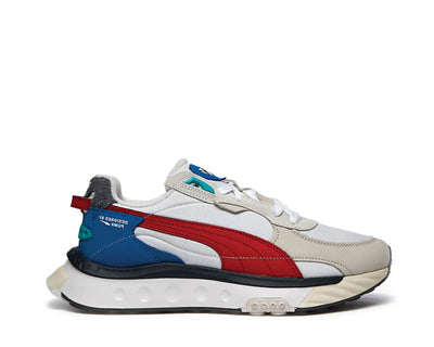 Puma Wild Rider Layers Puma White / Urban Red 380697-01