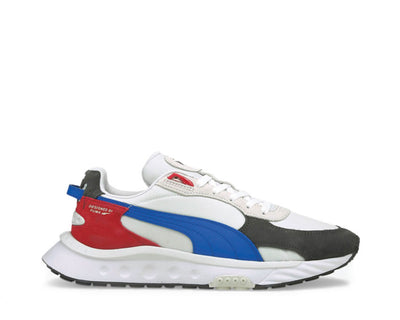 Puma Wildrider Layers Ebony / White 381517 04