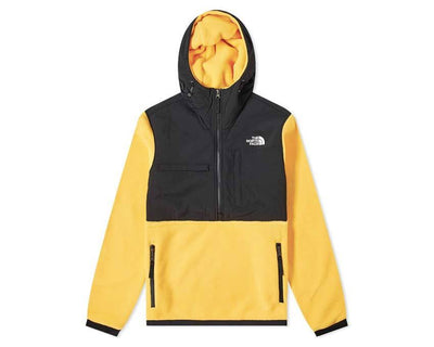 The North Face Denali Popover Fleece Jacket Yellow nf0a3xav70m