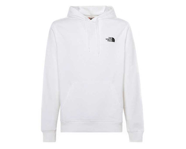 The North Face M Graphic Hoodie White / Black NF0A492ALA91