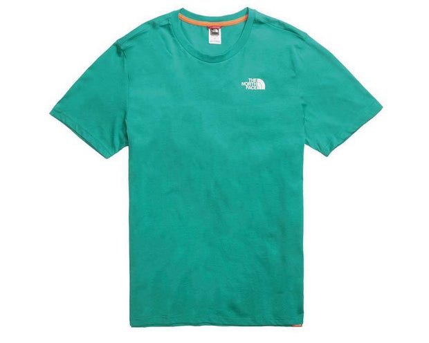 The North Face M SS Red Box Tee Porcelain Green T92TX2NS5