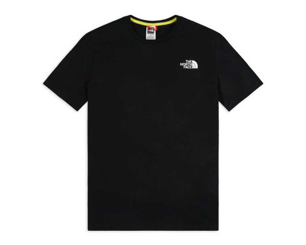 The North Face M SS RNBW T-Shirt Black / White NF0A4M6PKY41