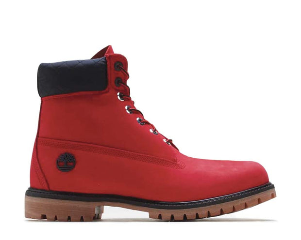 Timberland NBA Chicago Bulls Boots Medium Red Nubuck TB0A2856P92