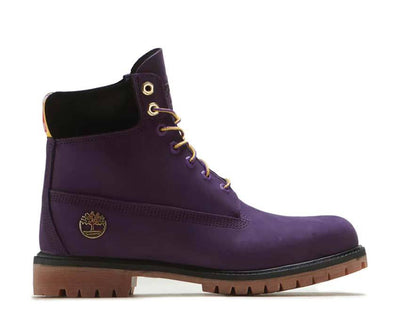Timberland NBA LA Lakers Boots Dark Purple Nubuck TB0A285H527