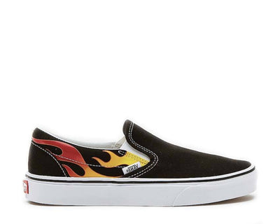Vans Slip On Flames Black VN0A38F7PHN1
