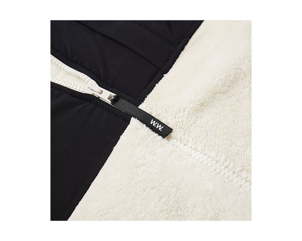 WOOD WOOD Hannes Zip Through Fleece Off White 11935104-2468