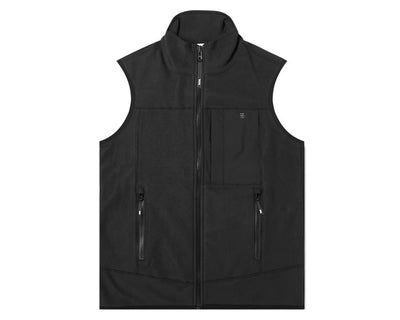 WOOD WOOD Olaf Fleece Vest Black 11935625-2467