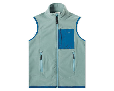 WOOD WOOD Olaf Fleece Vest Turquoise 11935625-2467