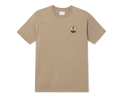 Wood Wood Patch T-shirt Taupe 11935716-2334