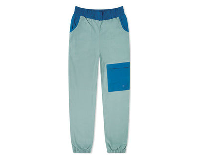 WOOD WOOD Sigurd Fleece Pant Turquoise 11935007-2467