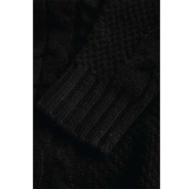 Wood Wood Calvin Sweater Black Lambswool