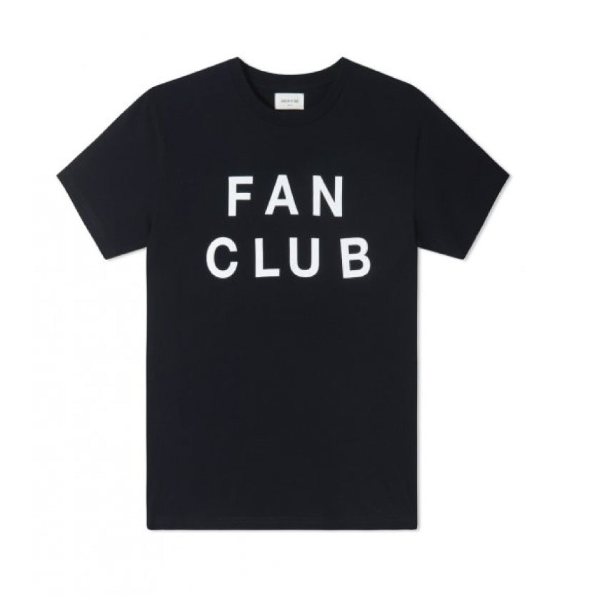 Wood Wood Fan Club T-shirt Navy 11835719-2334