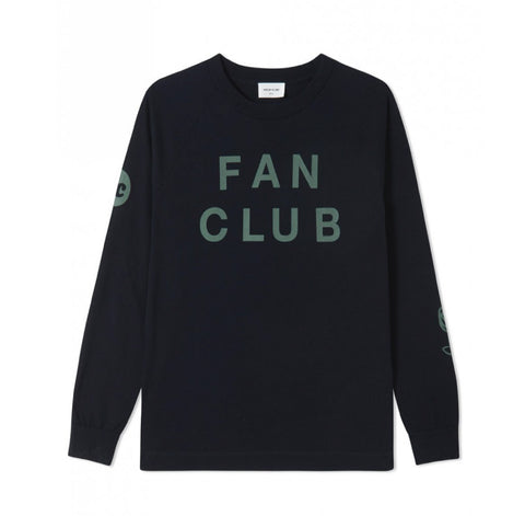 Wood Wood Han Long Sleeve Navy L