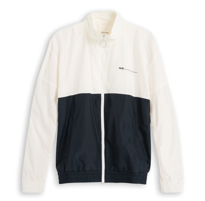 Wood Wood Homer Jacket Off White Navy 11815116-1221