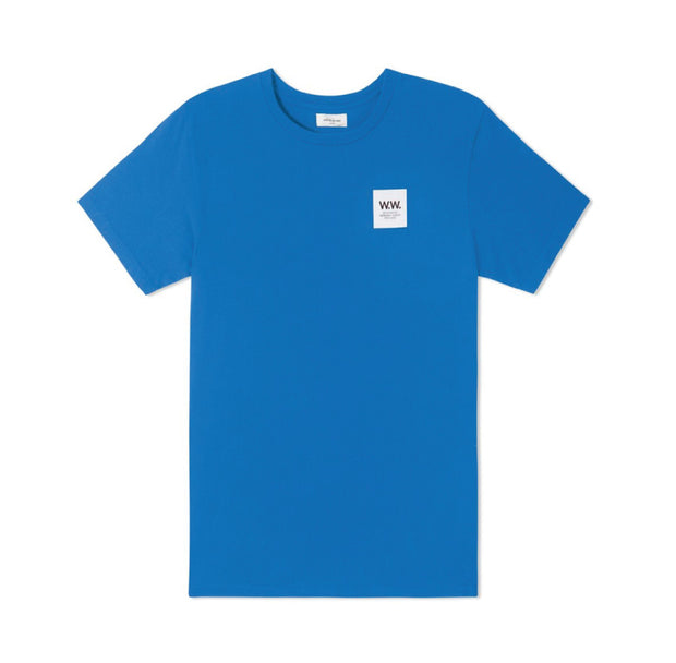 Wood Wood WW Box T-shirt Bright Blue 11835725-2334