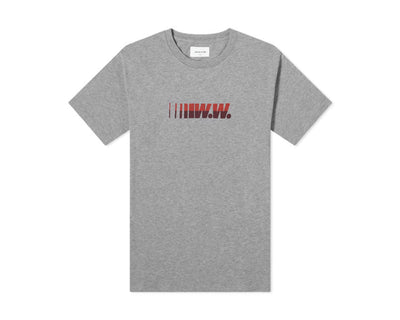 Wood Wood WW Logo Tee Grey 12015717-2334