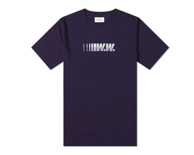 Wood Wood WW Logo Tee Navy 12015717-2334