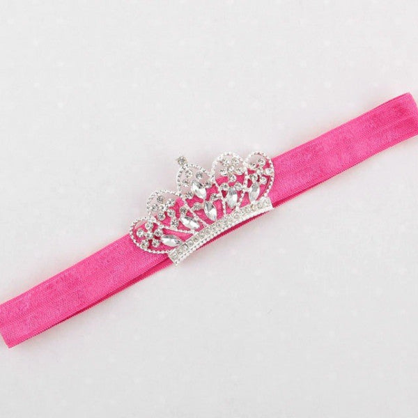 Rhinestone Crown Headband
