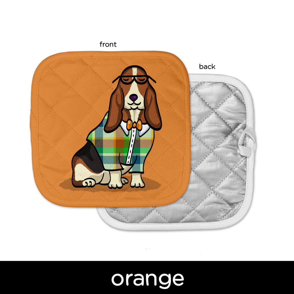 Basset Hound Pot Holder